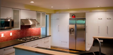 An Ikea Kitchen That Pops Nw Homeworks